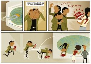 Comic for Max Panck Institute