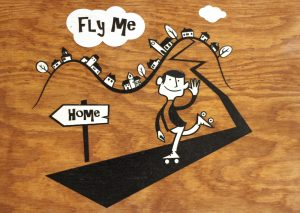 Fly me home