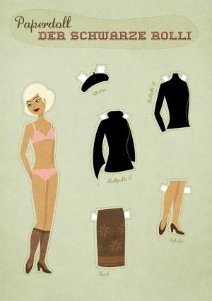 Dress-up doll